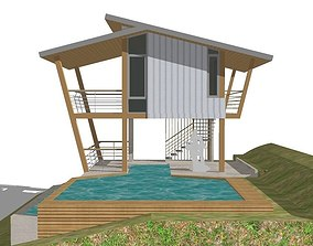 HOME at WEEKEND 3D model