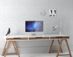 office set 15 AM149 3D
