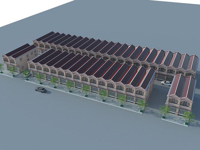Flat house model