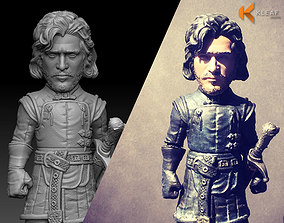 3D printable model Game of Thrones - Jon Snow NightWatch