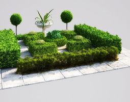 3d model garden 16 am148