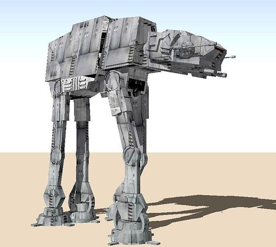 star wars at-at walker 3d model stl 1