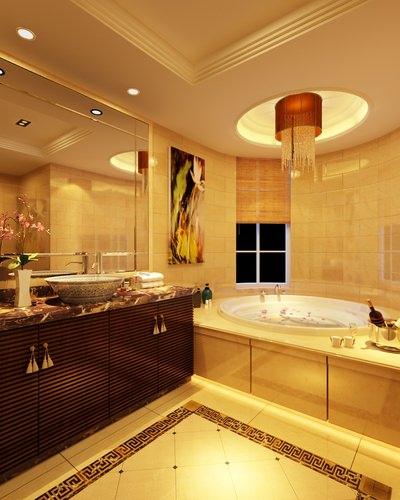 Luxury bathroom 3d cgtrader for New bathroom models