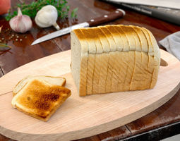 3d model bread 14 am150