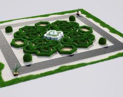 garden 19 AM148 3D model