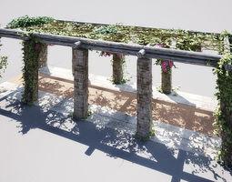 3D model garden 02 01 AM148