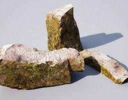 3d model stones 15-13 am148