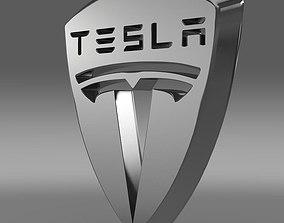 Tesla Logo 3D model