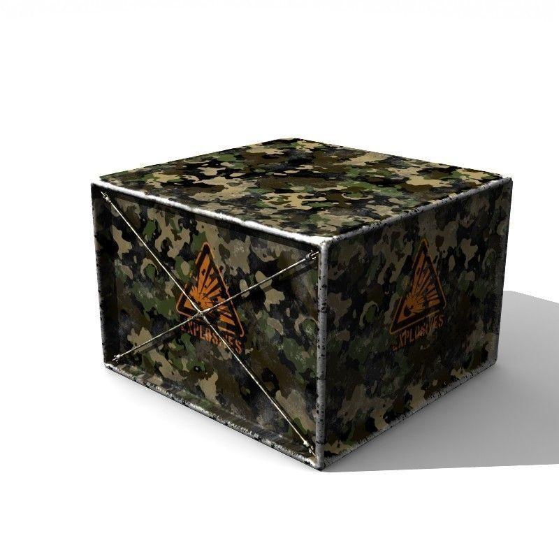 Military Explosive Container