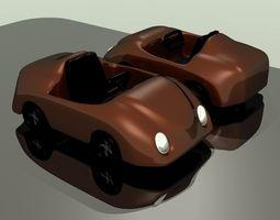 toy race car 3d