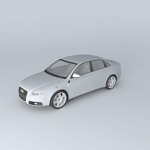 Audi S4 B7 Typ 8ec 2006 Model Max Obj Mtl S Fbx Stl Dae 1