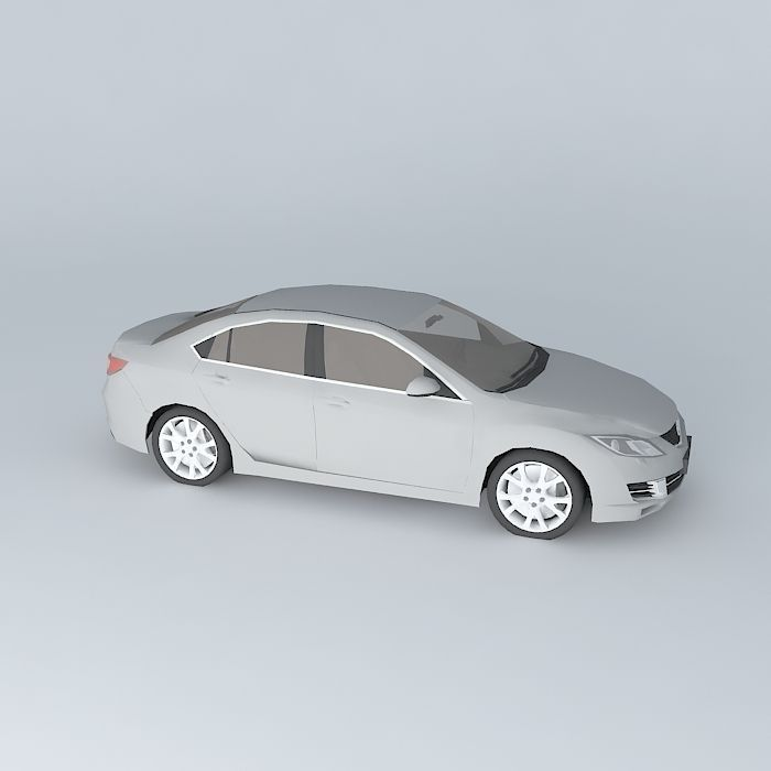 mazda mazda6 sport 2008 free 3d model max obj 3ds fbx. Black Bedroom Furniture Sets. Home Design Ideas