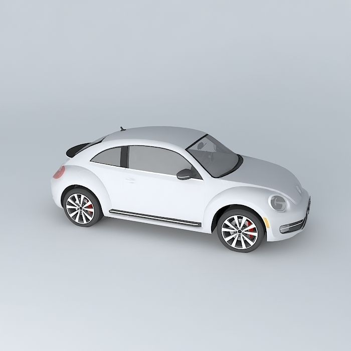 volkswagen beetle turbo     model max obj ds fbx stl dae cgtradercom