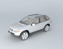 bmw x5 4.8is e53 3d