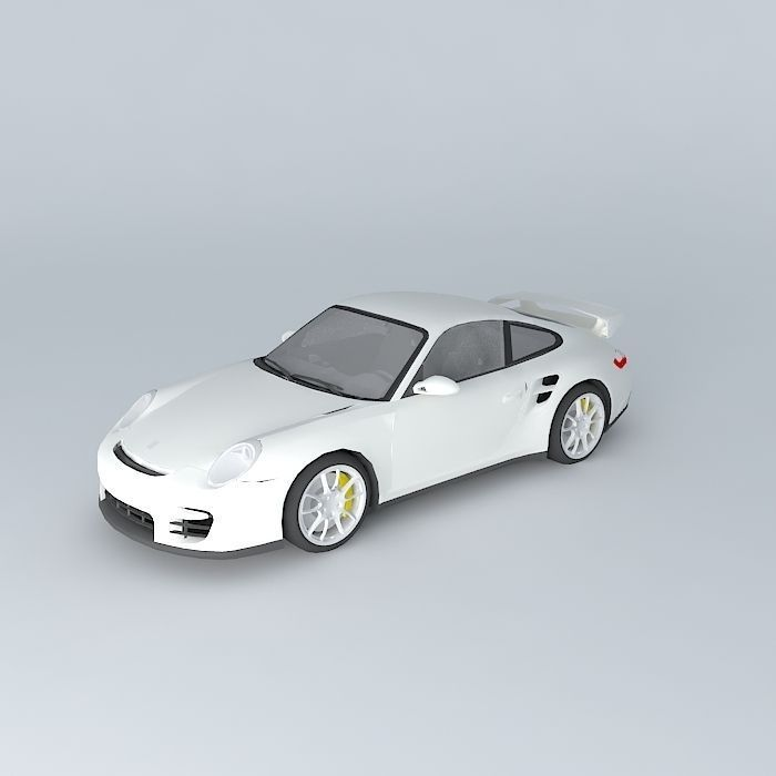 porsche 911 gt2 type 997 2009 free 3d model max obj 3ds fbx stl dae. Black Bedroom Furniture Sets. Home Design Ideas
