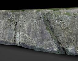 rock cliff 2 3D model
