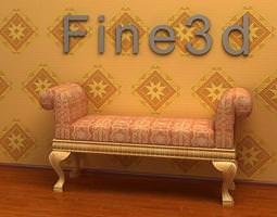 3d motley couch