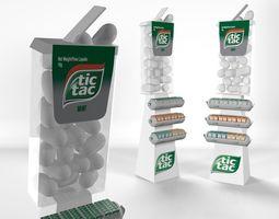 Tic Tac Free Standing Unit 3D asset
