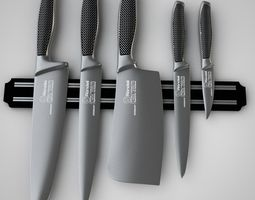 3D model Knife Set