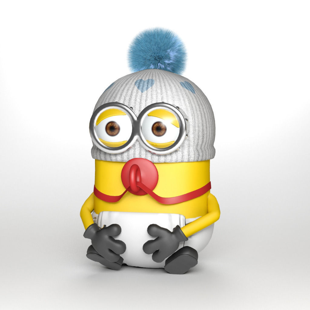 Baby minion 3D Model ....