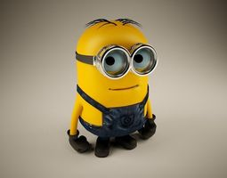 Rigged Minion 3D Model
