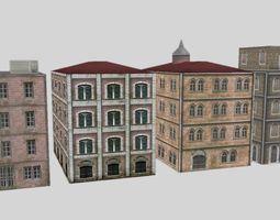 Apartment 3D model game-ready