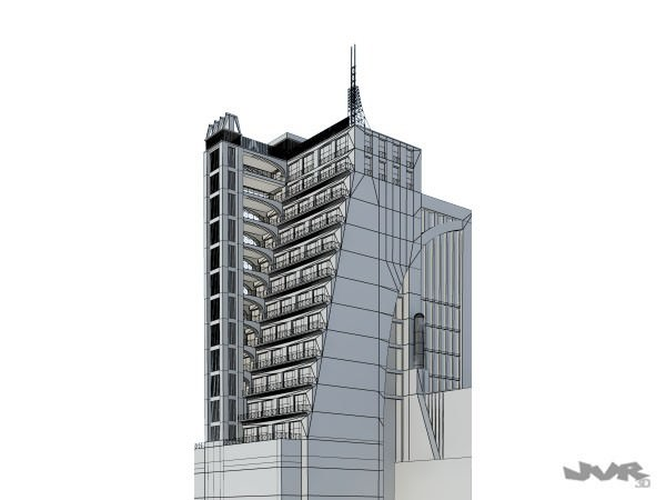 Futuristic Skyscrapers Drawings Futuristic Skyscraper