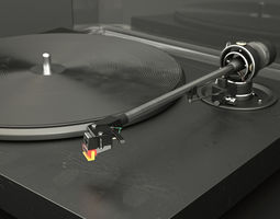 TESLA NC 500 Turntable 3D Model