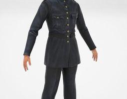 3D model Police man gangman style