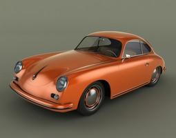 Porsche 356 3D
