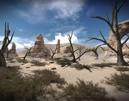10 old tree models for aaa and mobile games VR / AR ready