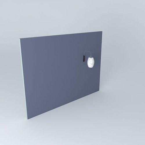 WALL LIGHT 3D Model .max .obj .3ds .fbx .stl .dae