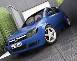 Opel Astra H 3D Model