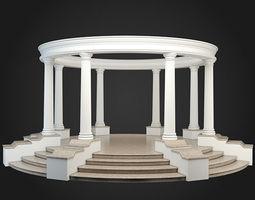 3D model Gazebo classics