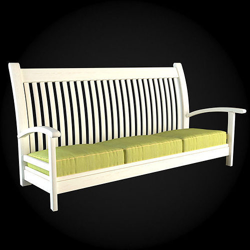 Garden furniture 015 3d model max obj fbx for Outdoor furniture 3d max