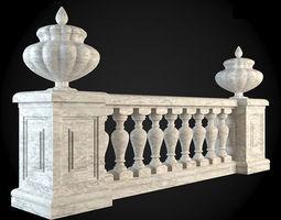 Baluster 3D model newel