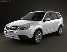 Subaru Forester Premium 2011 3D