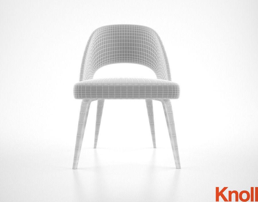 Knoll Saarinen Chair 3d Model Max Obj Fbx Mtl 5