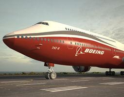 3D model Boeing 747-8I