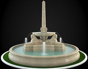 Fountain render 3D