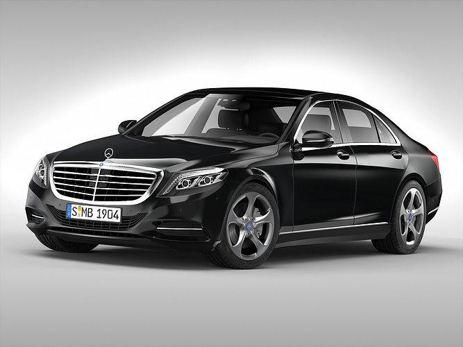 Mercedes benz s class 2014 3d cgtrader for Mercedes benz 2014 models