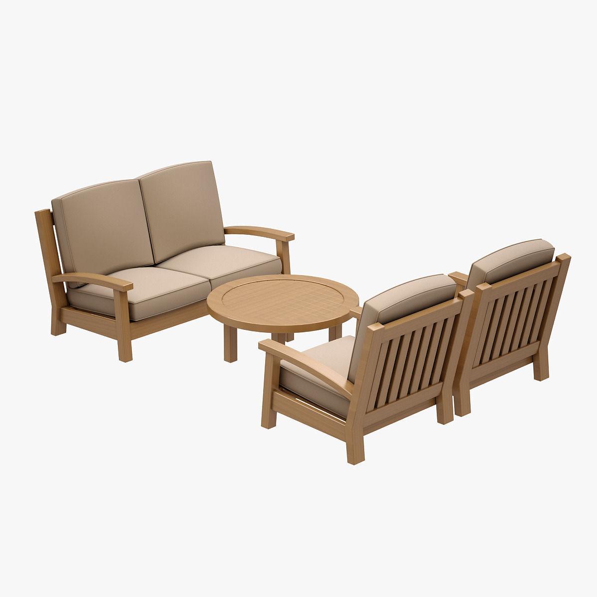 Sofa Set HANCERLI 3D model | CGTrader