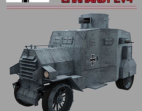 3D EHRARDT E-V 4 ARMOURED CAR