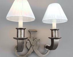 3D model Wall lamp VISUAL COMFORT 01