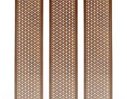 Decorative lattice details 3D