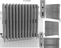 Radiator exterior 3D