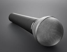 Microphone Shure 3D Model
