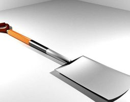 Garden Tool - Digging Spade 3D