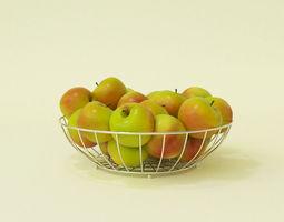 food 3D apple
