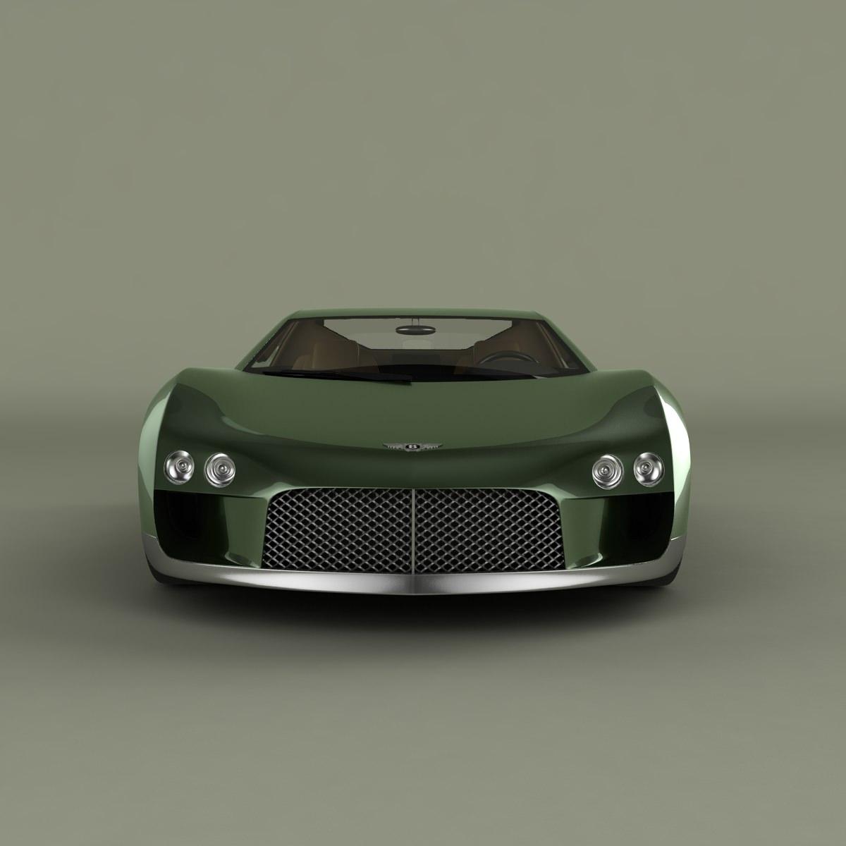 Bentley Hunaudieres Concept 3d Model Max Obj 3ds